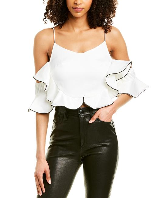 Beulah Ruffle Top Cd2640 Blouse 14115638070002 Image 1