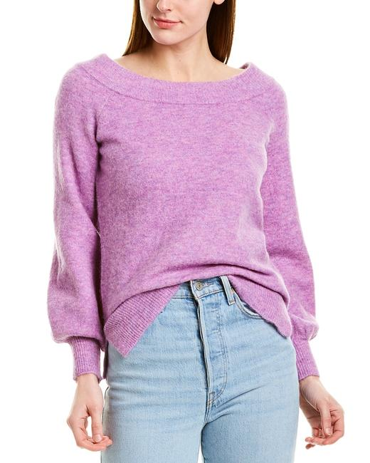 525 America Off-the-shoulder Alpaca Wool-blend Wr19022 Sweater/Pullover 14111494260002 Image 1