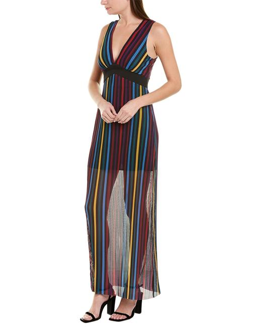 BCBGeneration Pleated Tulle Tik6249238 Casual Maxi Dress BCBGeneration Pleated Tulle Tik6249238 Casual Maxi Dress Image 1