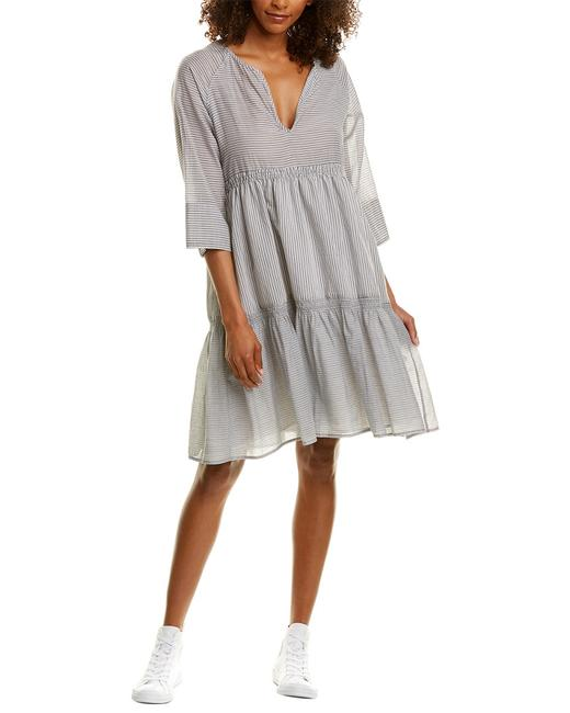 James Perse Collage Shirting Shift Wcsb6449 Casual Maxi Dress 14116633170000 Image 1