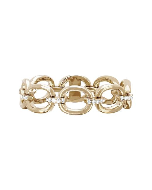 Item - 14k 2.68 Ct. Tw. Diamond Partial Chain Link Ring Ef-60241-yg-7 Jewelry