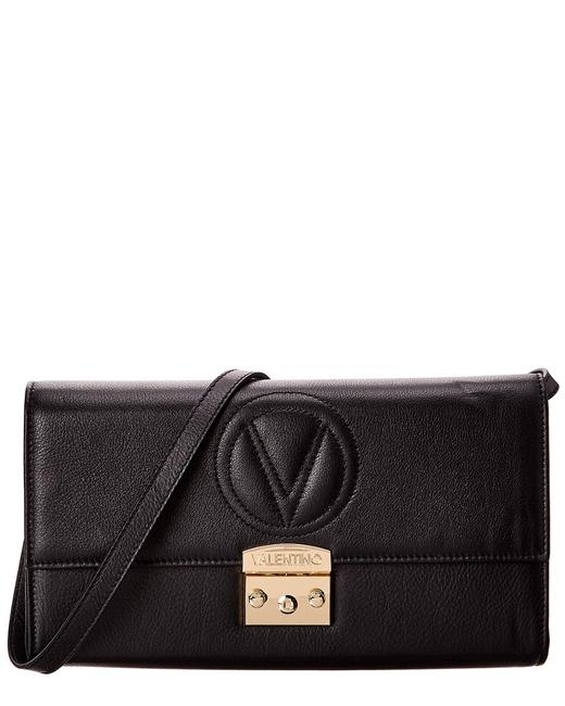 Mario Valentino Cocotte Sauvage Leather V2401to-sv-bk Clutch 11606354680000 Image 1
