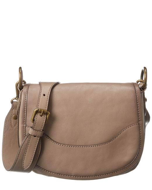 Frye Lucy Saddle Leather 34db0054-gry Cross Body Bag 11602872050000 Image 1