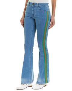 Gucci Stretch Flare Pantaloni 527432 Xrb36 Pants
