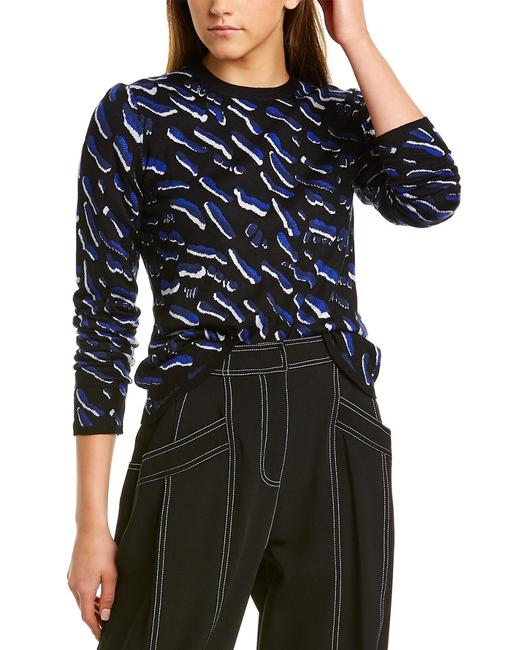 Item - Animal Jacquard Cashmere Silk-blend Dr91904sc Sweater/Pullover