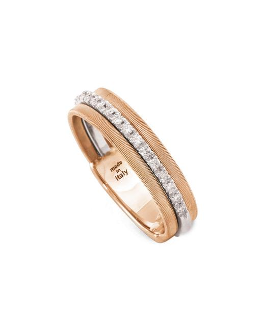 Marco Bicego Goa 18k Rose Gold 0.13 Ct. Tw. Diamond Ring Ag322 B Wr Jewelry 60305282300000 Image 1