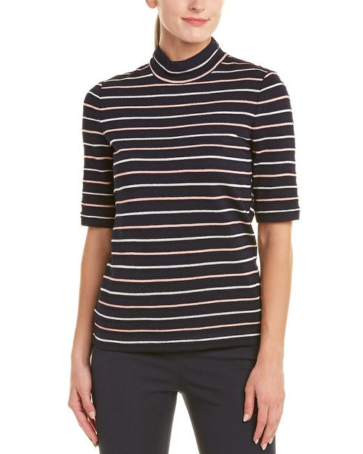 St. John Wool-blend Striped Top K90vq23 Sweater/Pullover St. John Wool-blend Striped Top K90vq23 Sweater/Pullover Image 1