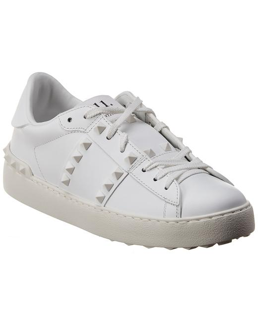 Valentino Rockstud Untitled Leather Sneaker Tw2s0a01 Yek 0bo Athletic 13136842840001 Image 1