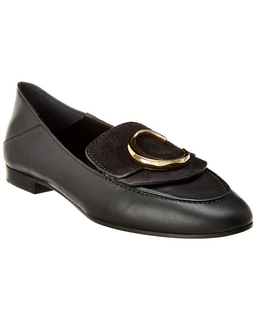 Chloé C Leather Chc19s13 391 001 Loafers 13136570830002 Image 1