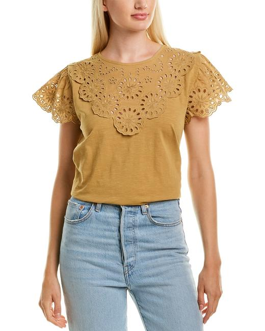 Item - Lace Scalloped T-shirt An181 Sweater/Pullover