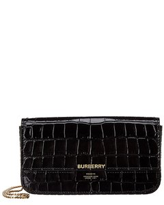 Burberry Wallet on Chain Camille Croc-embossed Leather 8028024 Tank Top/Cami