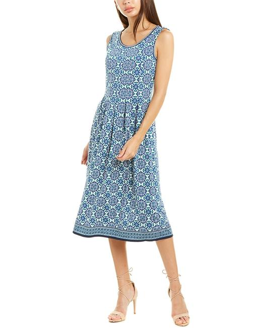 Max Studio Geo Print A-line 9907w68 Casual Maxi Dress 14116374140000 Image 1