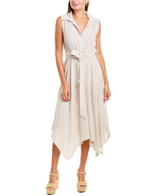 Max Studio Handkerchief Midi 9904r42a Casual Maxi Dress Max Studio Handkerchief Midi 9904r42a Casual Maxi Dress Image 1