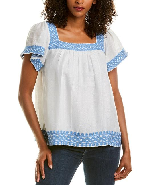 Sail to Sable Flutter Sleeve Top Sp2023 Blouse 14114078150001 Image 1