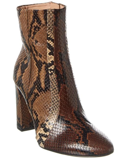Item - Marla Snake-embossed Leather F190711es Boots/Booties