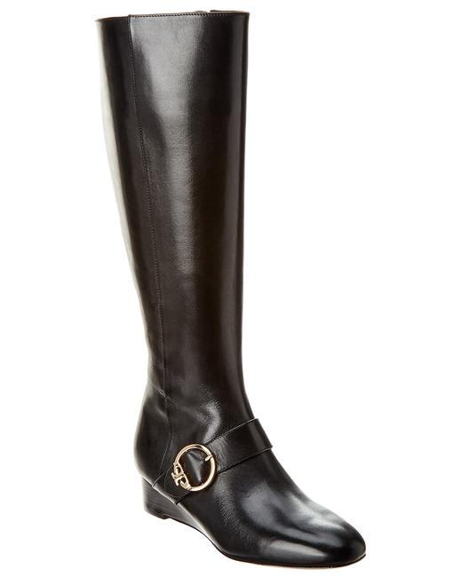 Tory Burch Sofia Leather Wedge 50887-006 Boots/Booties 13116527410001 Image 1