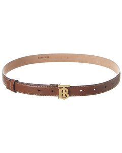 Burberry Monogram Motif Leather 8023441 Belt