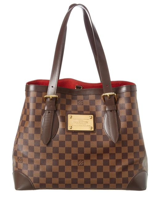 Item - Hampstead Pre-owned Damier Ebene Canvas Mm 1789314 Tote