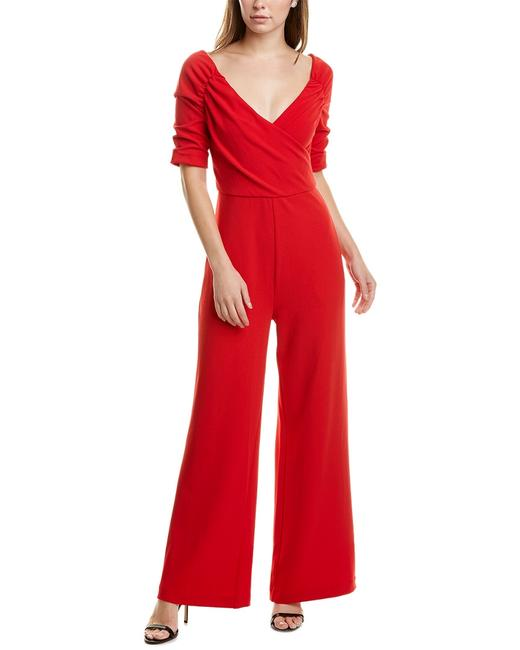 Item - Ruched Sleeve Ble9052 Romper/Jumpsuit