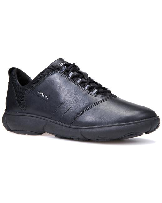 Geox Nebula Leather Sneaker D641ee00085c9999 Athletic 13116632460002 Image 1