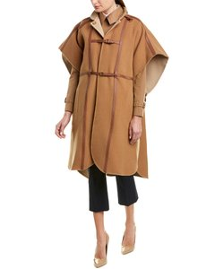 Burberry Harness Wool-blend 8017521 Poncho/Cape