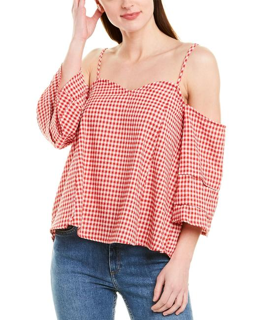Item - Tiered Sleeve Top Mr3575 Blouse