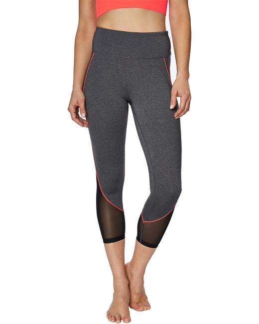 Item - Color Lined Mesh Insert Crop Emx1p74 Leggings