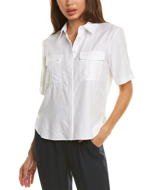Theory Patch Pocket Top K0306529 Blouse 14116909060001 Image 1
