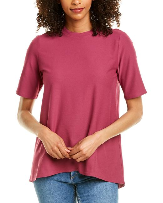 Item - Stretch Crepe Mock Neck T-shirt R9tl-t5230m Blouse