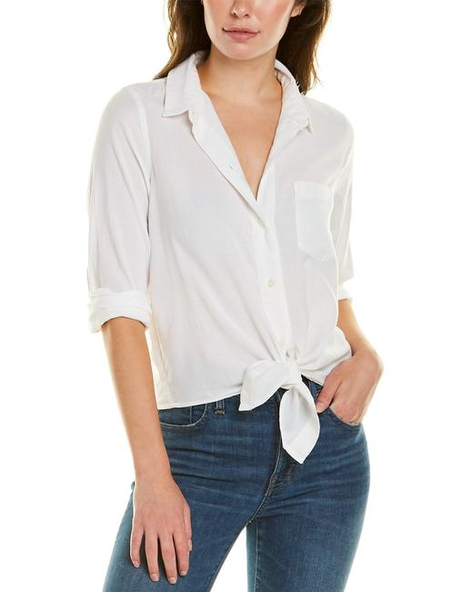Madewell Tie-front Shirt F3219 Blouse 14115051000001 Image 1