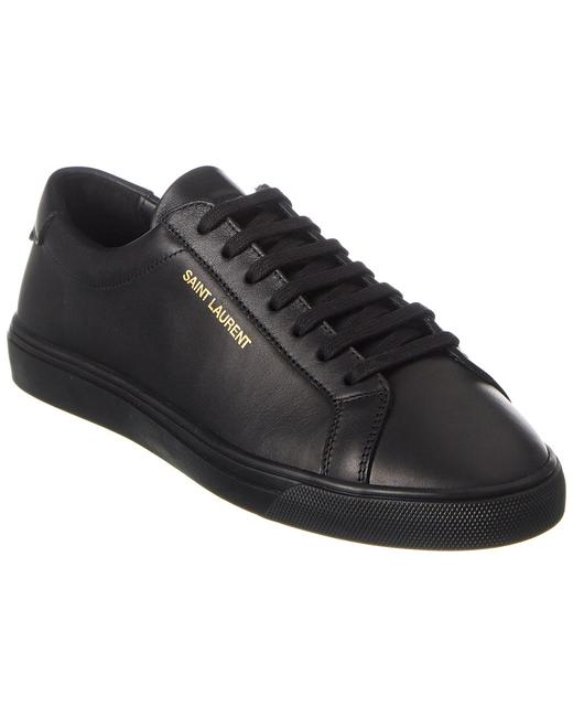 Saint Laurent Andy Leather Sneaker 606831 0zs00 Athletic 13136842620000 Image 1