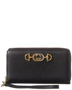 Gucci Zumi Leather Zip Around 574779 1b90x Wallet