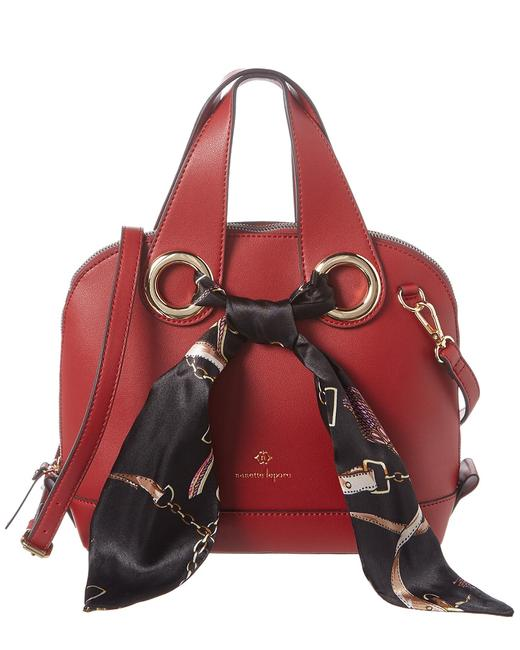 Item - Dome with Scarf 28715634-nlst-rby Satchel