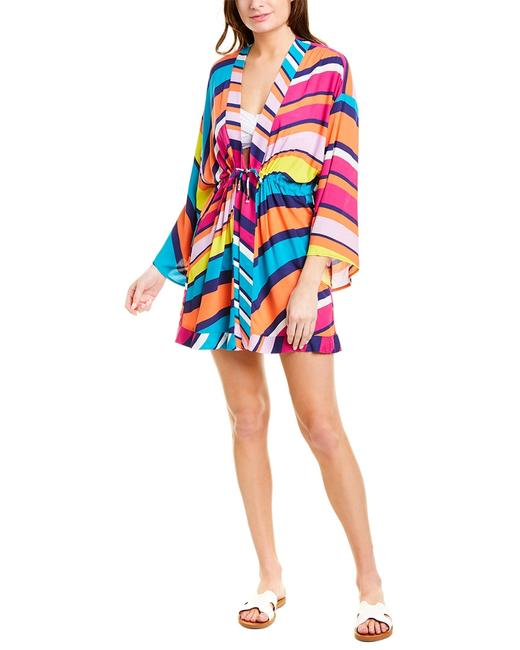 Item - Catch A Wave Ruched Robe Tt0as27 Cover-up/Sarong