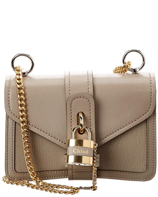 Chloé Aby Mini Leather Chc20ss 207b72 23w Shoulder Bag Chloé Aby Mini Leather Chc20ss 207b72 23w Shoulder Bag Image 1
