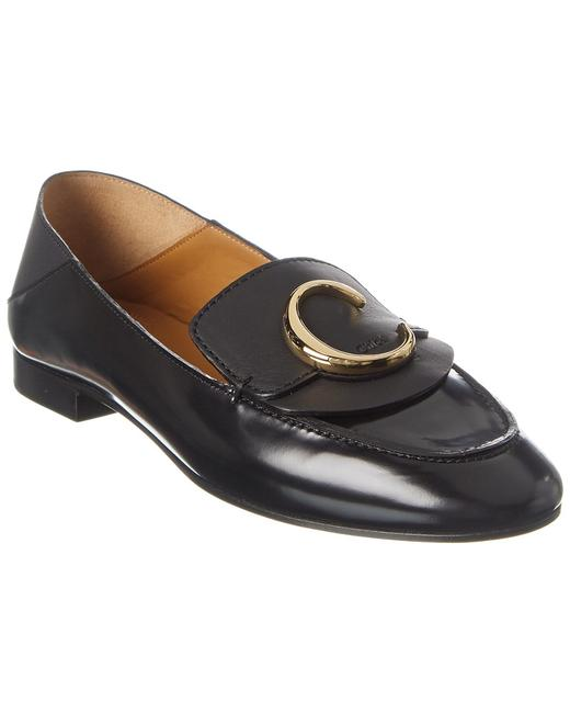 Chloé C Leather Chc19s13 306 001 Loafers 13137094950004 Image 1