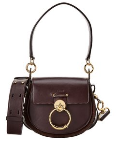 Chloé Small Leather & Suede Chc18ws 153a37 079 Shoulder Bag