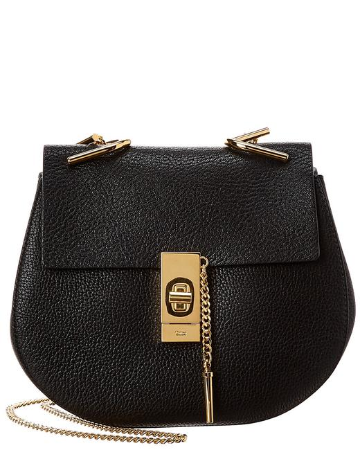Chloé Drew Small Leather Chc14ws 031944 001 Shoulder Bag Chloé Drew Small Leather Chc14ws 031944 001 Shoulder Bag Image 1