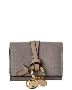 Chloé Alphabet Leather Trifold Wallet Chc17ap946 H9q 053 Accessory