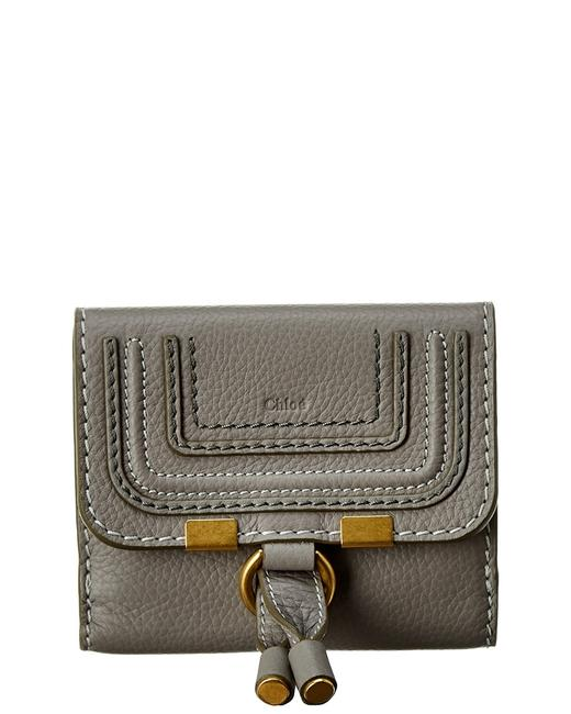 Chloé Marcie Leather Continental Wallet Chc10up572 161 053 Accessory Chloé Marcie Leather Continental Wallet Chc10up572 161 053 Accessory Image 1