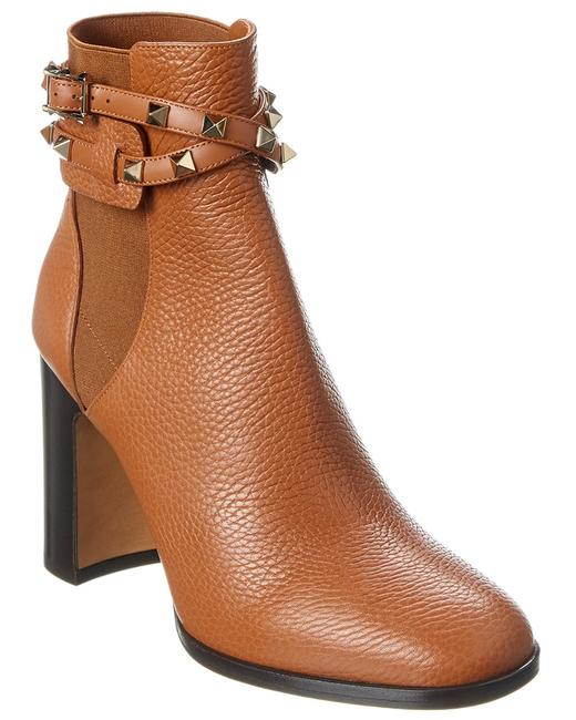 Valentino Rockstud Leather Uw2s0p62 Vce Hg5 Boots/Booties 13137051300004 Image 1