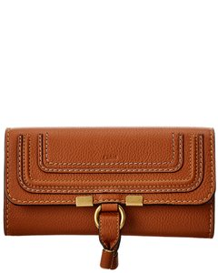 Chloé Marcie Long Leather Flap Wallet Chc10up 573161 25m Accessory