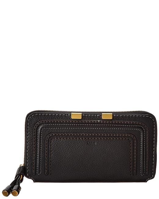 Item - Marcie Long Leather Zip Around Chc10up 571161 001 Wallet