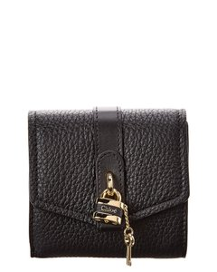 Chloé Aby Leather Trifold Wallet Chc20sp 315b71 001 Accessory