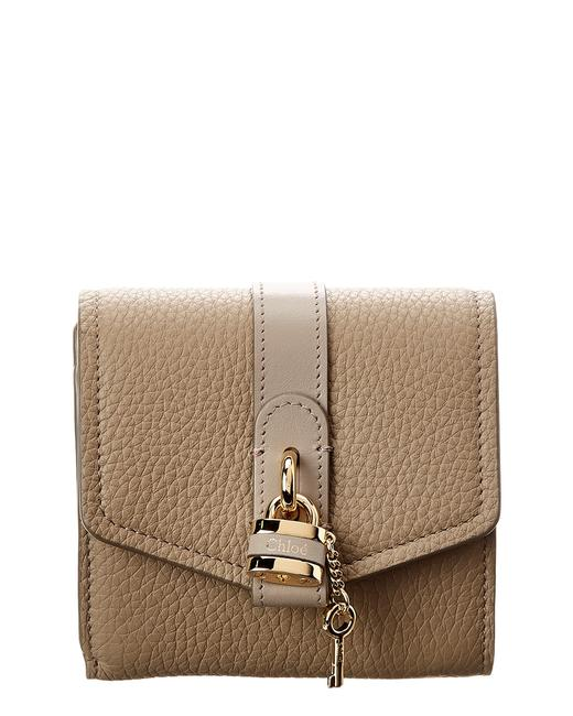 Chloé Aby Leather Trifold Wallet Chc20sp 315b71 23w Accessory Chloé Aby Leather Trifold Wallet Chc20sp 315b71 23w Accessory Image 1