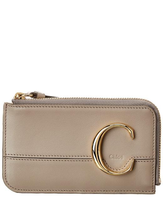 Item - C Small Leather Card Case Chc19up059 A37 23w Wallet