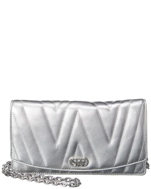 Item - Leather Emelie Quilted Cross Body Bag