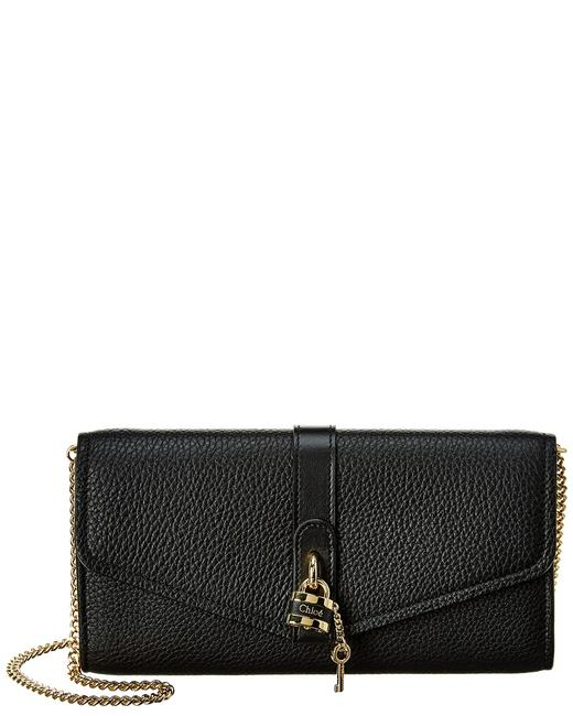 Chloé Wallet on Chain Aby Leather Chc20sp314 B71 001 Accessory Chloé Wallet on Chain Aby Leather Chc20sp314 B71 001 Accessory Image 1