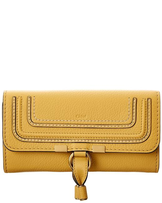 Chloé Marcie Long Leather Flap Wallet Chc10up573 161 746 Accessory Chloé Marcie Long Leather Flap Wallet Chc10up573 161 746 Accessory Image 1