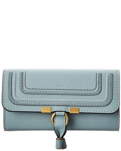 Chloé Marcie Long Leather Flap Wallet Chc10up 573161 44l Accessory